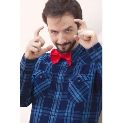 Red bow tie Aliénor