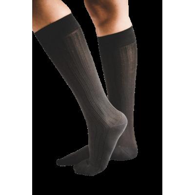 Chaussettes pour l'avion noires - New-York - compression modérée