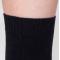Saimaa, black cotton socks for sensitive feet