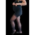 Collant maternité Solidea 70 den - compression légère - noir transparent