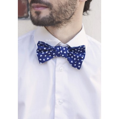 Blue bow tie Valentin
