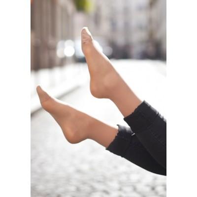 Chaussettes bien-être invisibles jambes légères, pour l'été