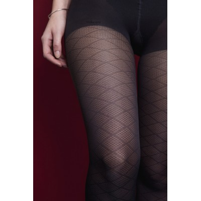 Black diamond pantyhose Bruges Ma Jolie