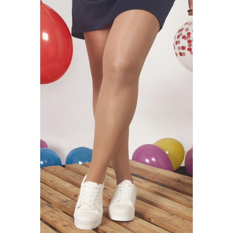 Transparent support pantyhose for spring