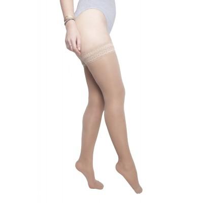 Bas jambes légères - compression modérée - voile invisible - Hello Laguna