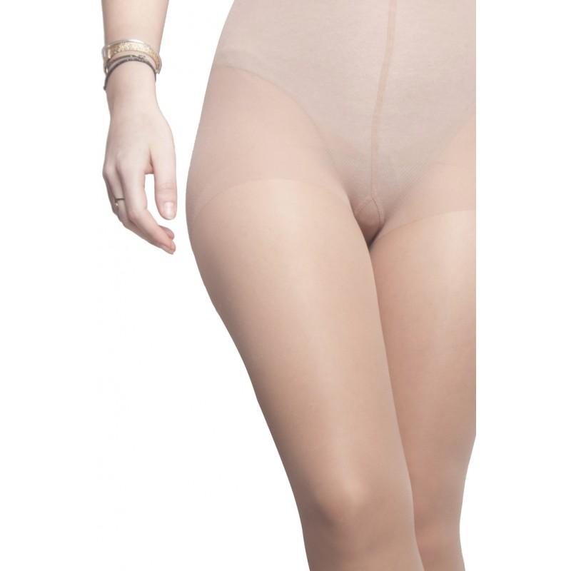 Collants bien-être transparents jambes légères