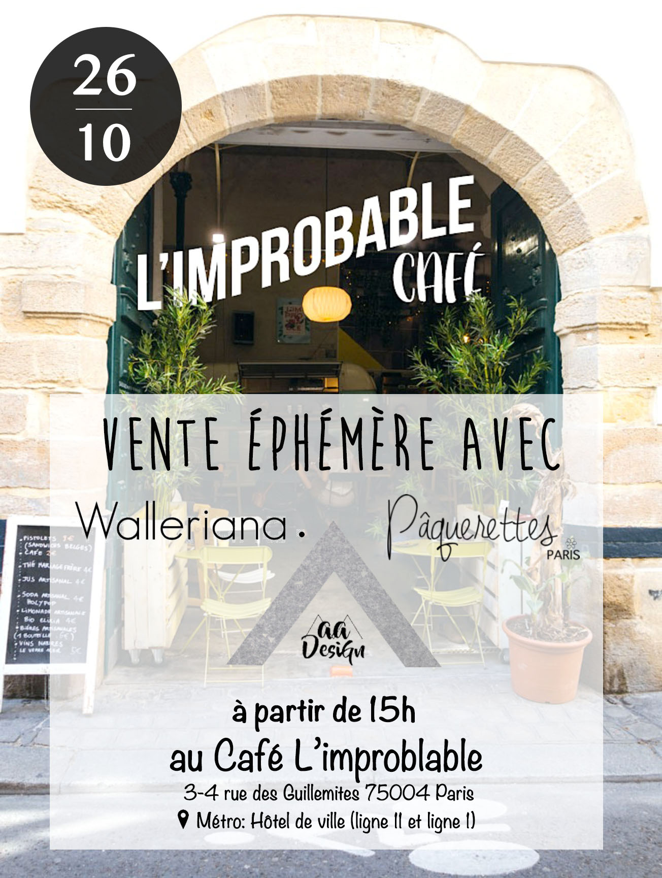 Walleriana à L'improbable