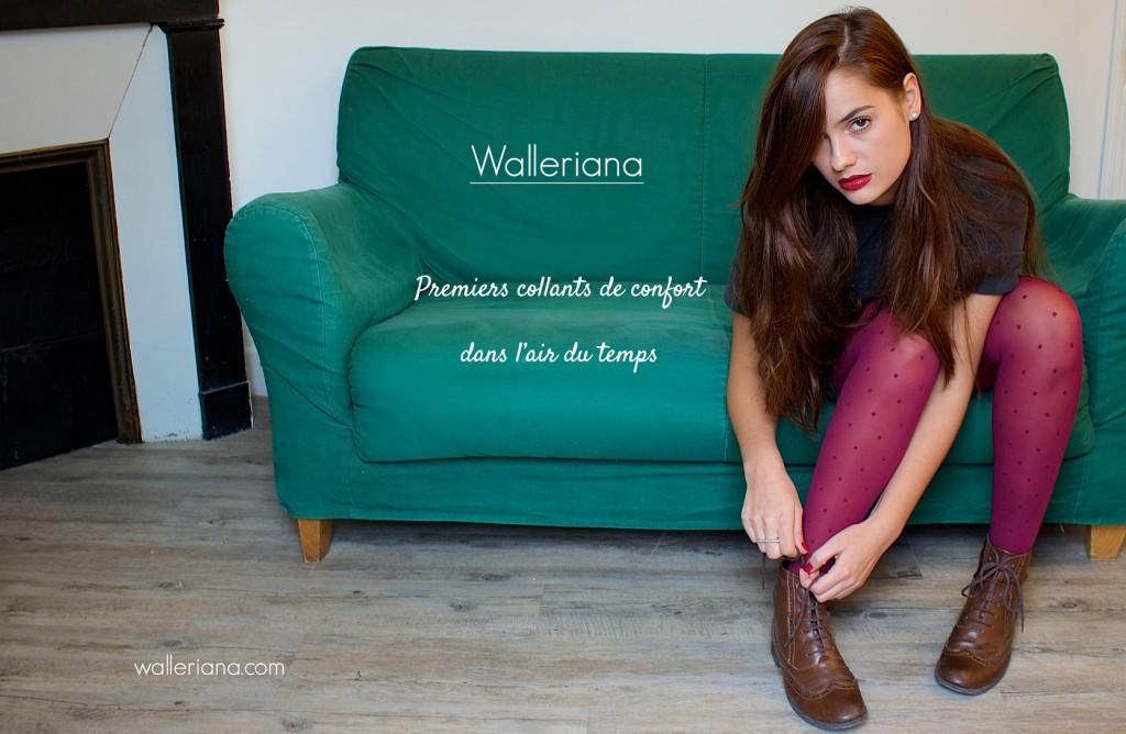 collants galbants à compression douce, collants de contention jolis, collants bien-être, Walleriana