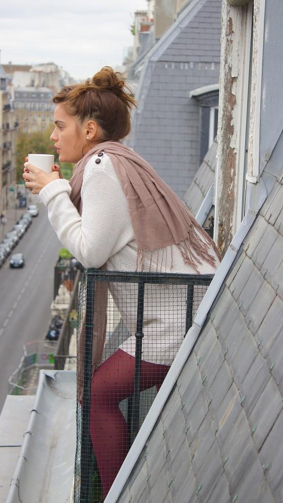matin cocooning : collants galbants à compression douce, collants de contention jolis, collants bien-être, Walleriana