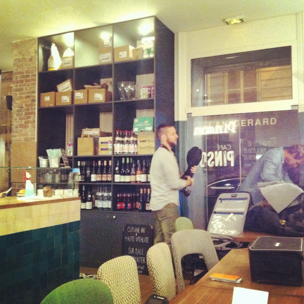 Shooting au Café Pinson