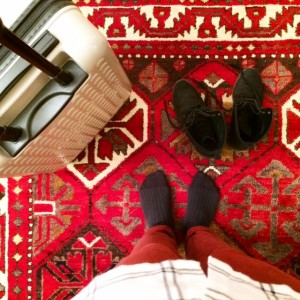 Juliette, 28 ans, Fondatrice Walleriana - chaussettes Take me to London