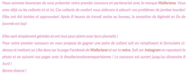 Tiré du blog Ma Parisienne