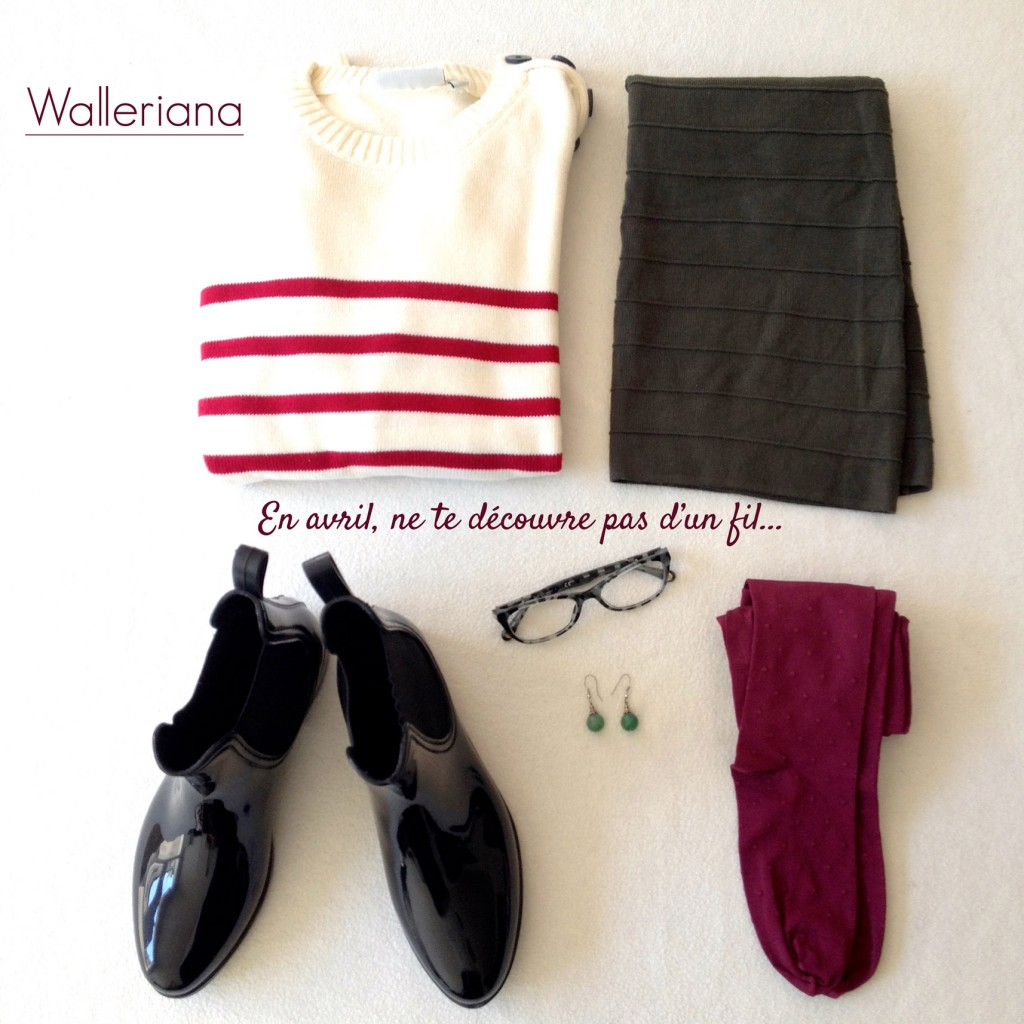 Le look Walleriana du mois d'avril