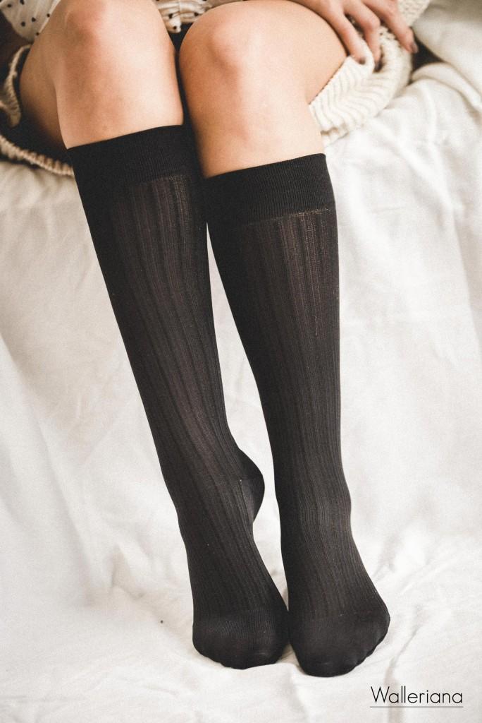 Chaussettes bien-être, chaussettes de contention jolies pour le voyage, chaussettes avion