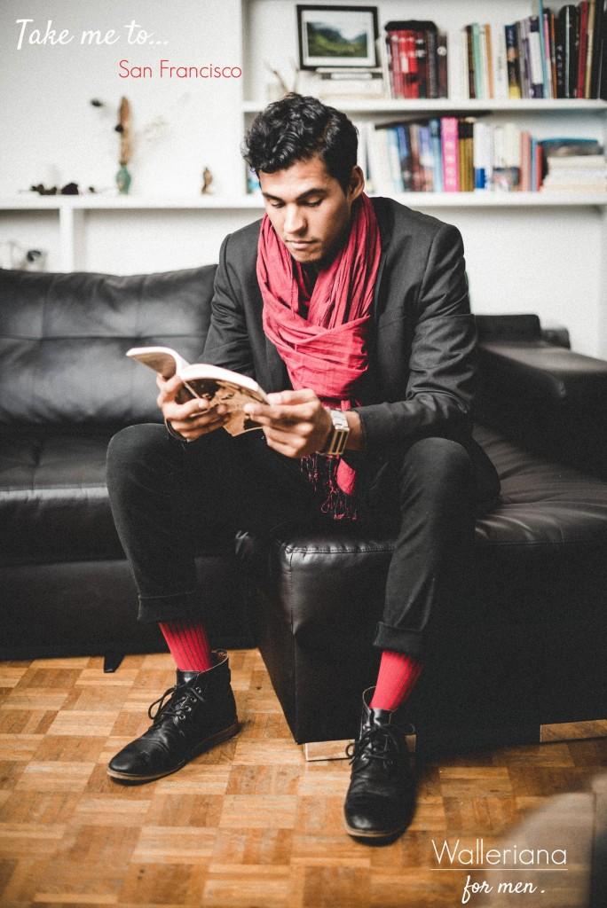 Chaussettes rouges à compression douce pour l'avion, chaussettes bien-être unisexes