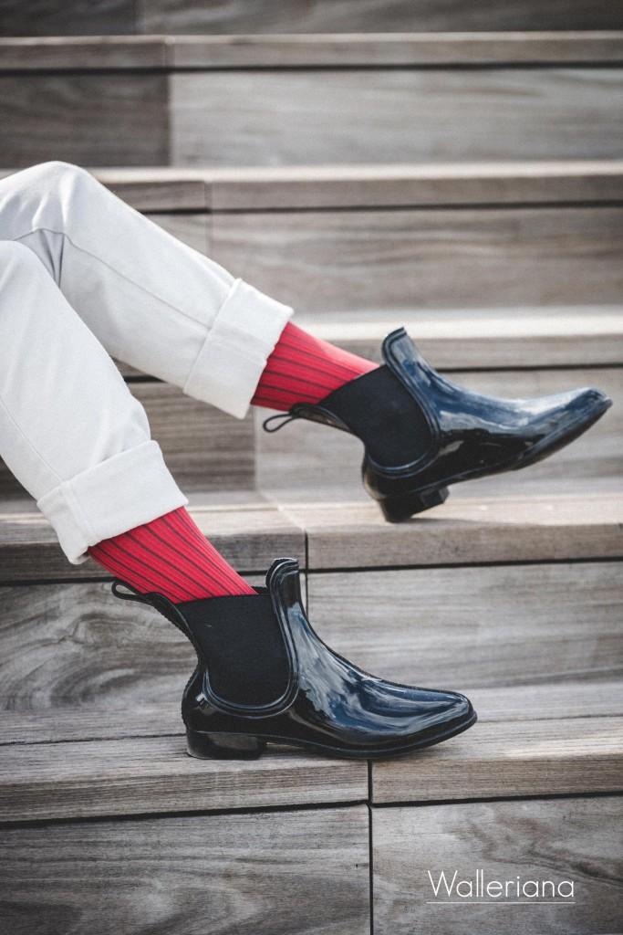 Chaussettes de contention pour prendre l'avion, chaussettes bien-être