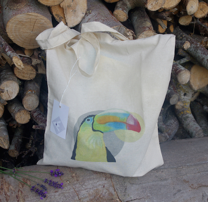 Tote bag - illustration Marie Boussard