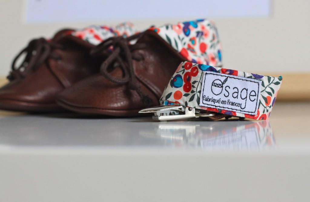 Chloé, créatrice de Osage, chaussons et accessoires pour bébés