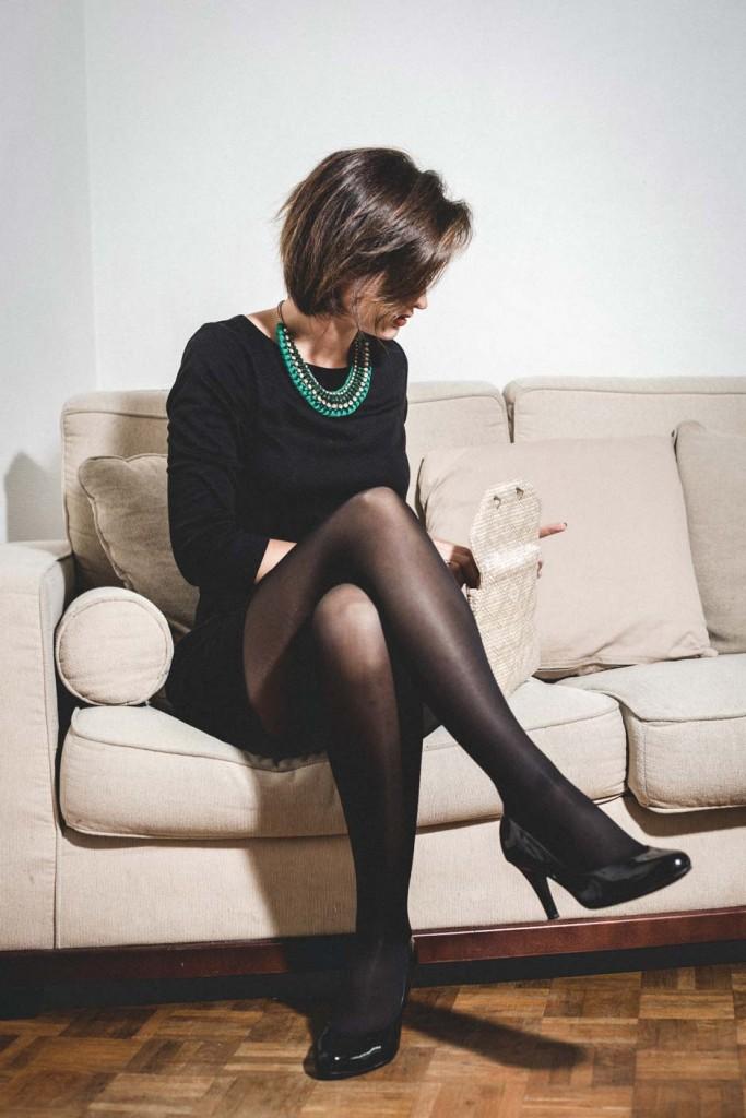 Collants bien-être jambes légères Simple is the New Black, collants de contention