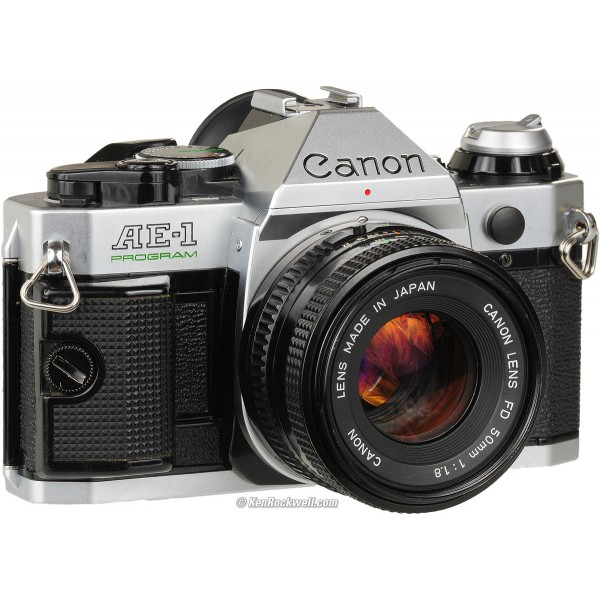 canon AE1 appareil photo argentique vintage wish list de noël walleriana