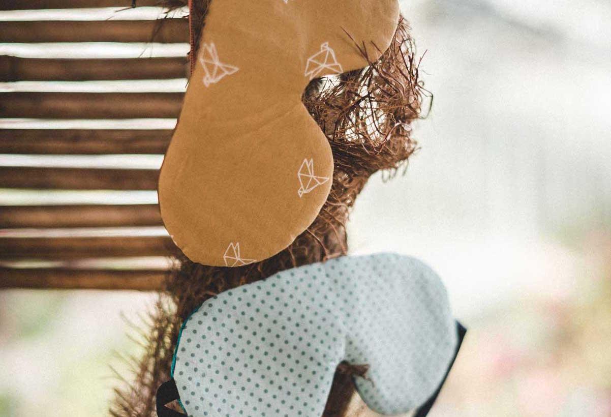 Elyfly, masques de nuit faits main pour Walleriana