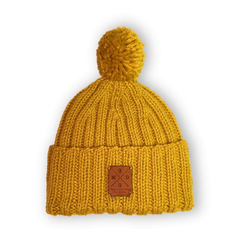 bonnet toulousain laine merinos moutarde gang des grands-mères wish list de noël walleriana