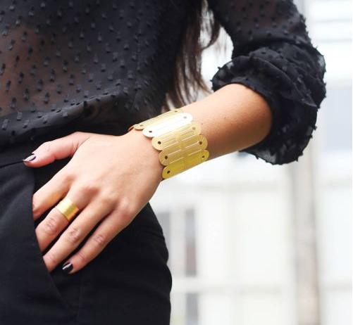 Bague et bracelet Alma, Vous Mademoiselle
