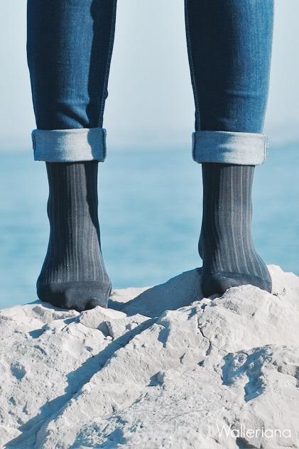 Chaussettes bien-être à compression douce Walleriana - soldes 2016 chaussettes bien-être
