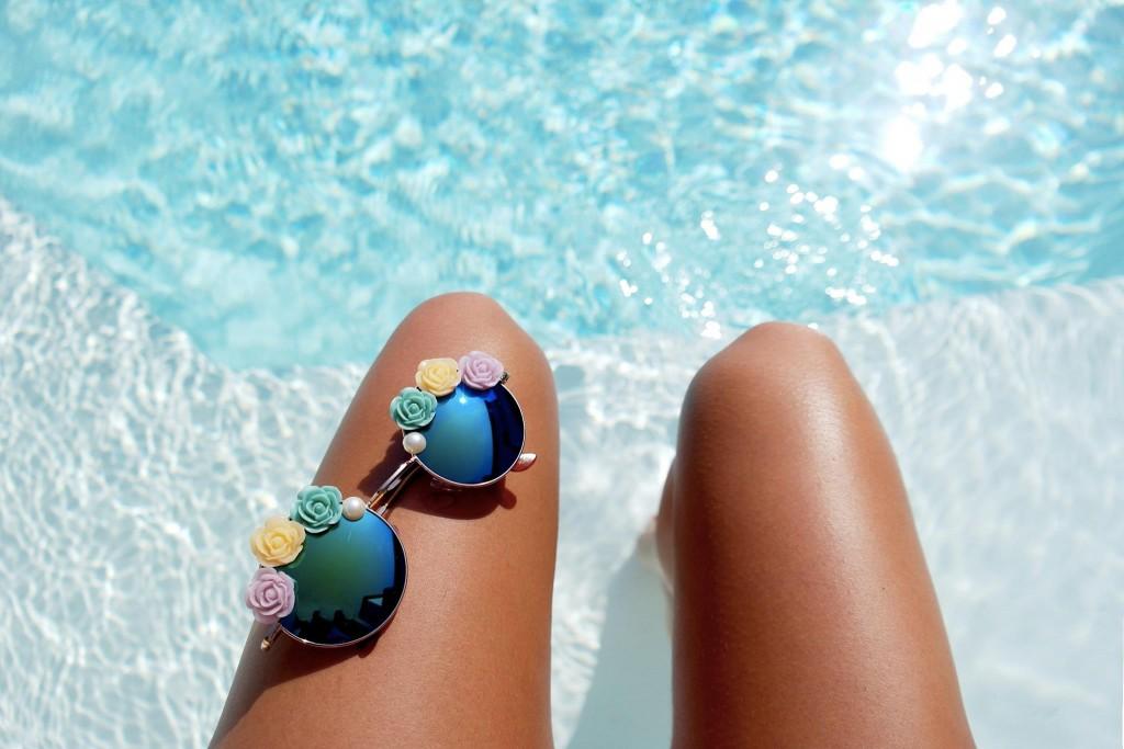 Des pâquerettes sur vos lunettes de soleil