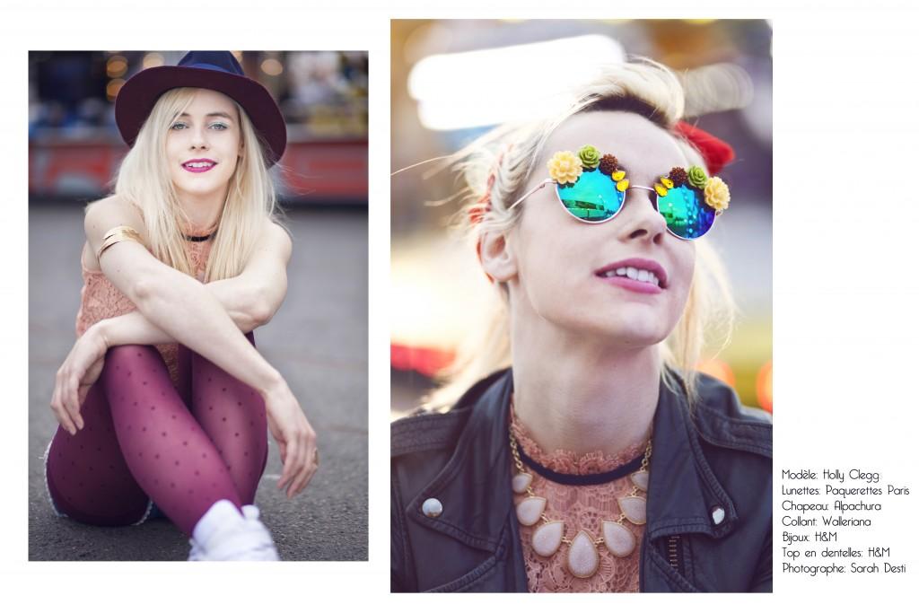 Des pâquerettes sur vos lunettes de soleil et des collants plumetis Walleriana