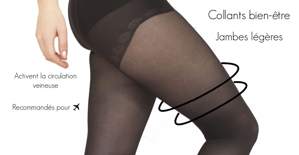 gambettes sensuelles : voyage et circulation sanguine, collants de contention jolis avion