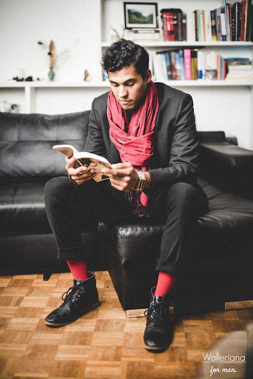 papa style, cadeau unique, Kit noeud papillon et chaussettes de contention stylées assorties