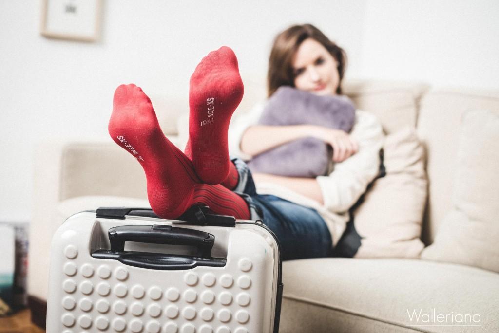 porter des chaussettes de contention en avion