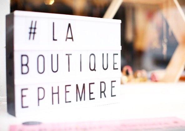 week-end créateurs à La Boutique Ephémère