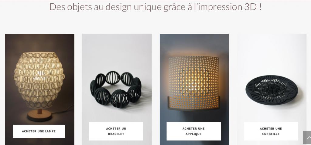 Imprime moi un mouton, luminaires et bijoux design imprimés en 3D