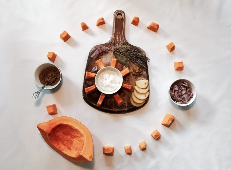 soupe potiron coco curry
