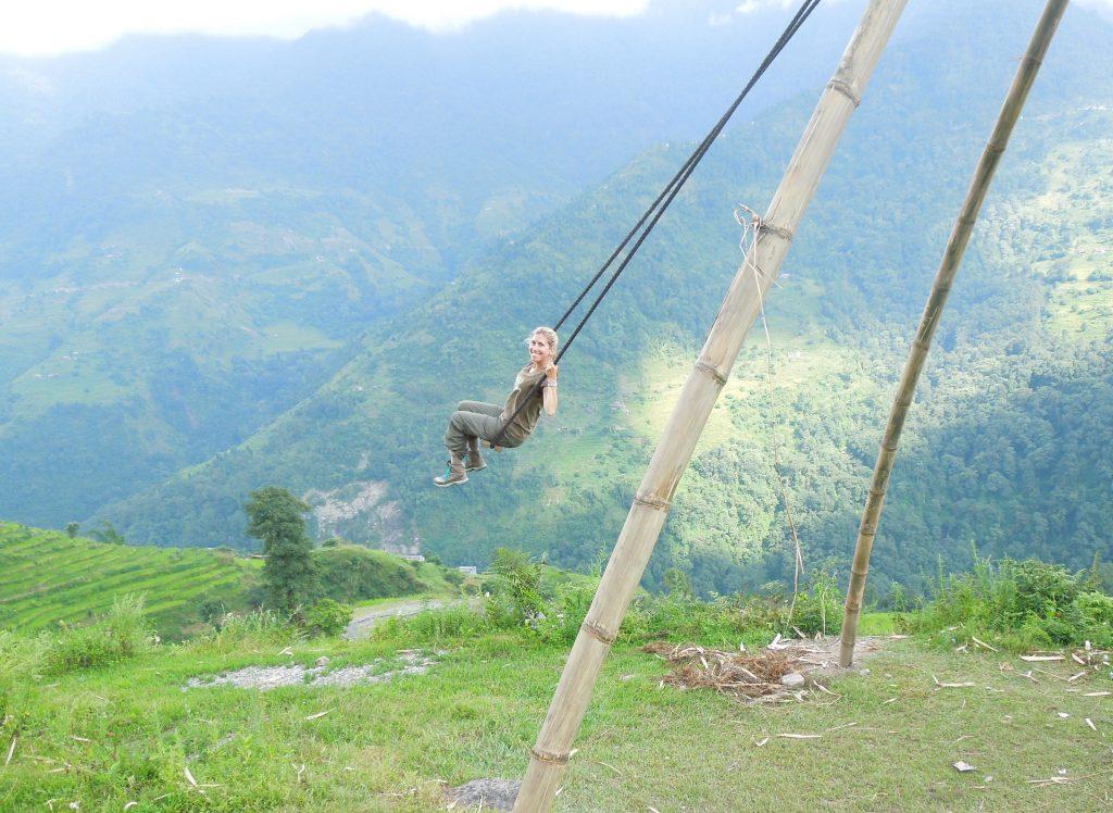 Alexis au Népal