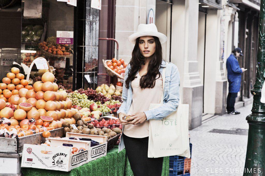 Les Sublimes Tote Bag Shopping - mode éco-responsable