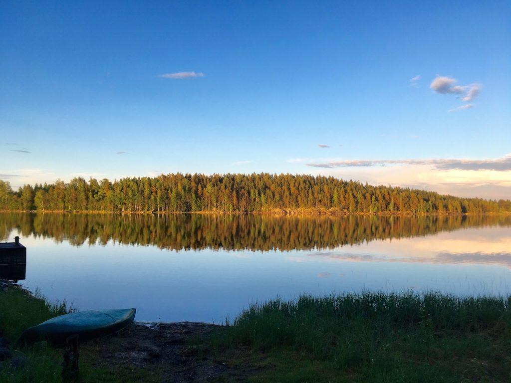 Visiter la Finlande en canoë