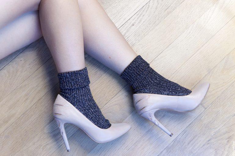le plus fiable limpide en vue achat authentique 4 looks en chaussettes à paillettes à adopter de toute urgence !