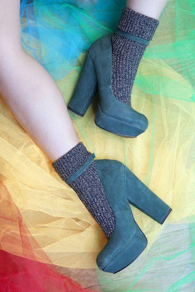 chaussettes à paillettes by Walleriana