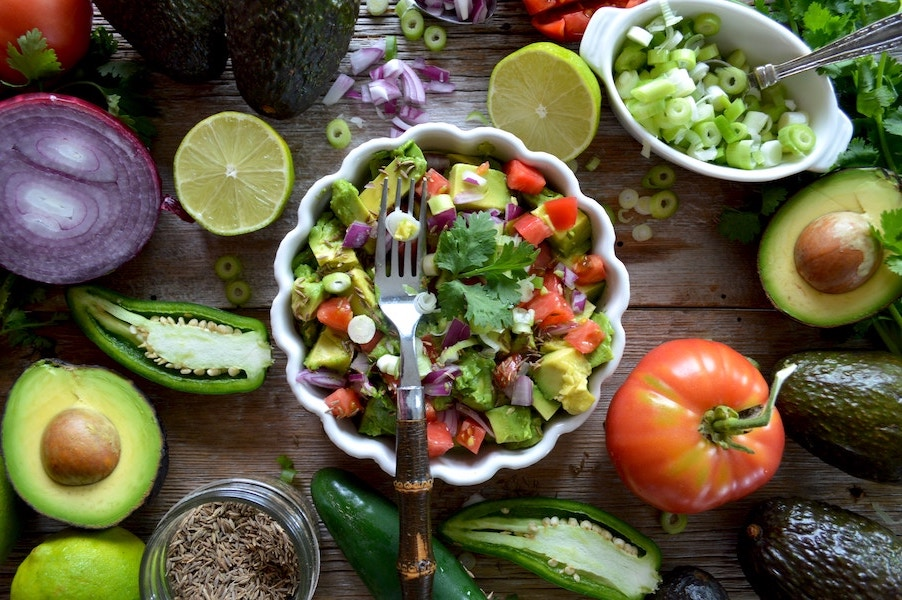 Alimentation équilibrée: mettre de la couleur dans son assiette