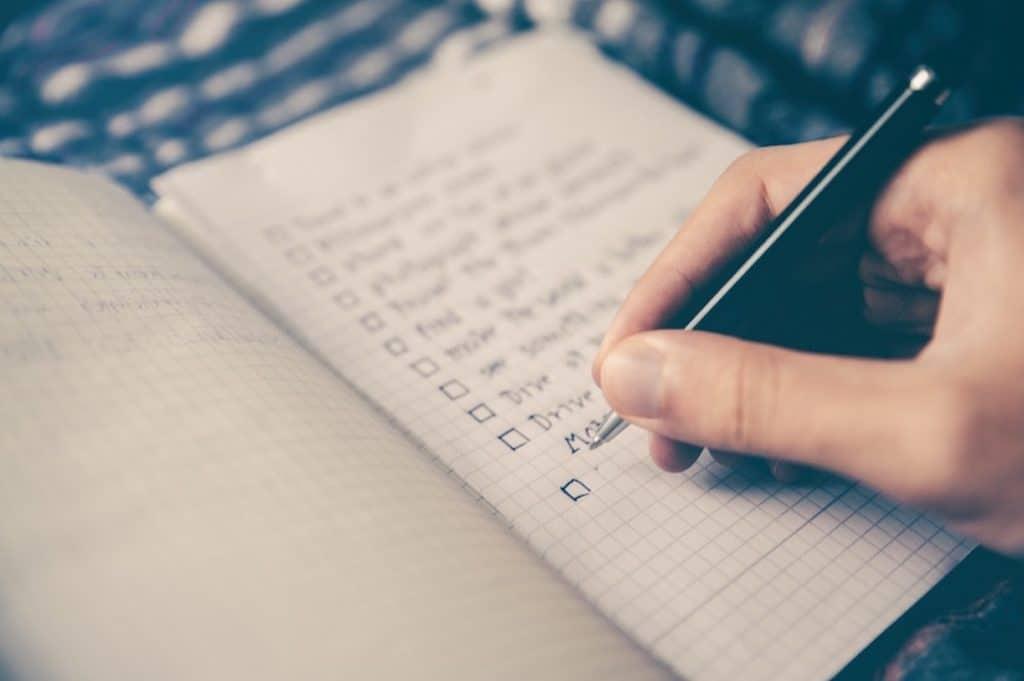 faire des listes rationnelles pour se dégager du temps pour soi