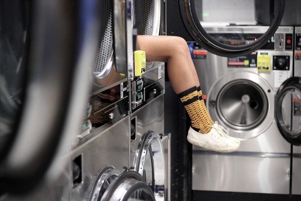 machine à laver, chaussettes