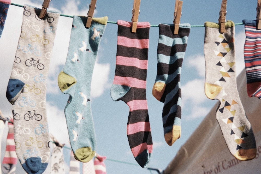 comment recycler ses chaussettes orphelines